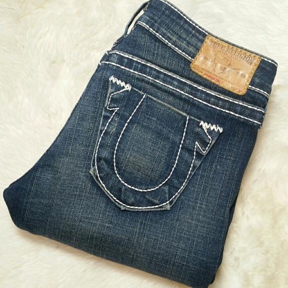 76f001348 Review True Religion Wide Leg Jeans Size 36 Cheap Leggings For Kids ...