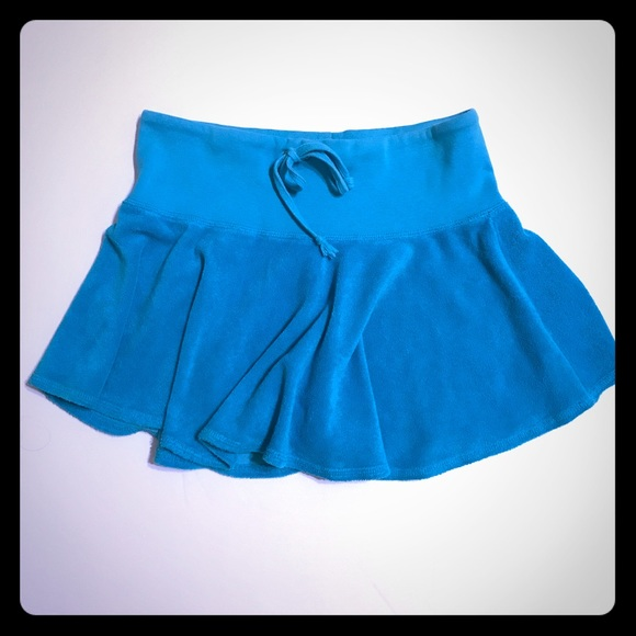 Juicy Couture Dresses & Skirts - JUICY COUTURE Tourqoise Terry Mini Skirt [SK-10]