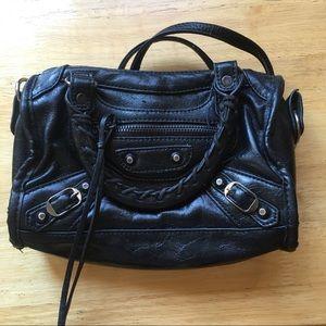Mini Black Fashion Handbag
