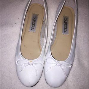 Capezio Shoes - White Capezio flats