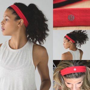 lululemon athletica Accessories - NWT lululemon skinny flyaway headband alarming