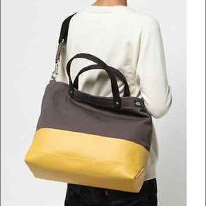 Jack Spade Handbags - Jack Spade Dipped Coal Bag/Tote
