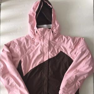 Columbia Pink Interchange Winter Coat Parka M NWTNWT for sale