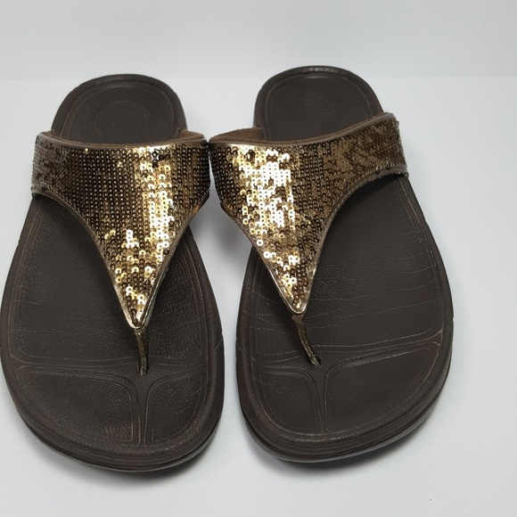 0586d1f307cd Fitflop Electra Bronze Size 6