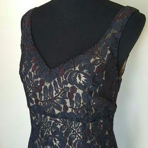 Moda International Dresses & Skirts - Moda Intl Black Lace Sheath Dress Size 10