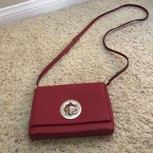Red Kate spade crossbody
