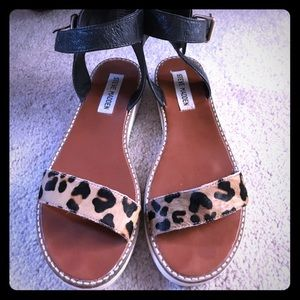 Steve Madden Sandals Cow Hair