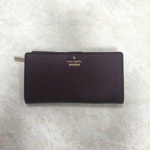 Handbags - Kate Spade Wallet (Maroon/Purple)