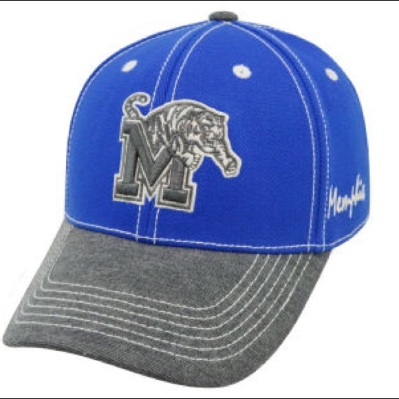 6967edcb NCAA Accessories | Memphis Tigers High Post Memory Fit Hat Nwt Ml ...