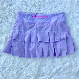 Lululemon Run Pace Setter Purple Skirt