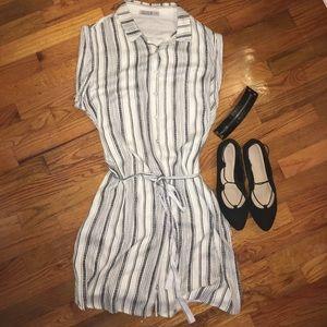 Cotton On Dresses & Skirts - NWOT Cotton On dark grey & white striped dress