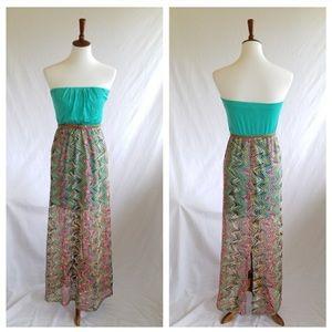 🌴CLOSING MONDAY🌴As U Wish Strapless Maxi Dress