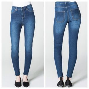 "Cheap Monday Skinny High  ""Tight Dark Blue"" Jeans"