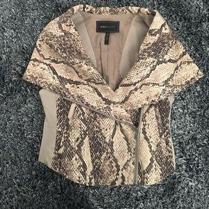 Bcbg python vest
