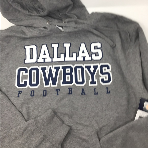 172e202e Dallas Cowboy Fleece Hoodie Mens Auth NFL Apparel Boutique