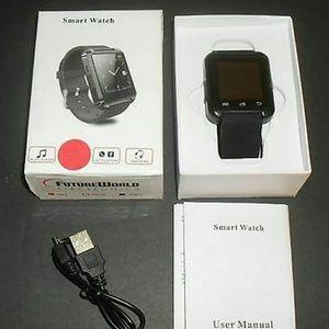 FutureWorld Electronics Black Smart Watch