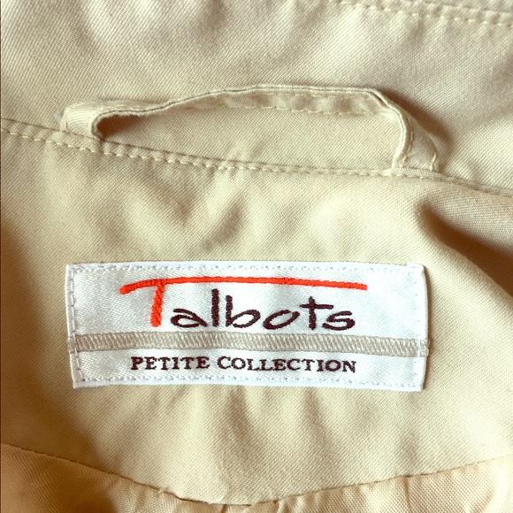 Talbots Jackets & Coats - Talbots Trench Coat Petite Plus Size 20W 22W Khaki