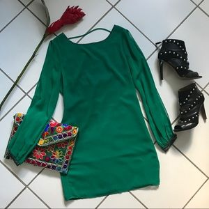 Green Bolly Dress - Ark & Co.