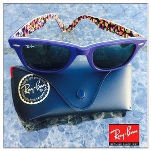 RAY BAN Special series #1 plum/purple Wayfarers