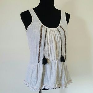 Anthropologie One September Bohemian Knit Top