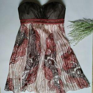 💜SALE💜 BCBG MAXAZRIA Dress 100% Silk Size 2
