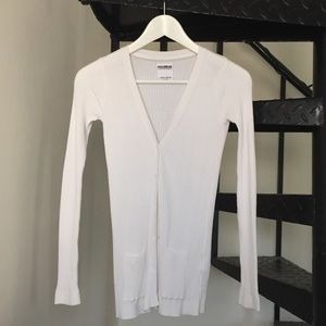 Pull&Bear Sweaters - [pull&bear] White cardigan