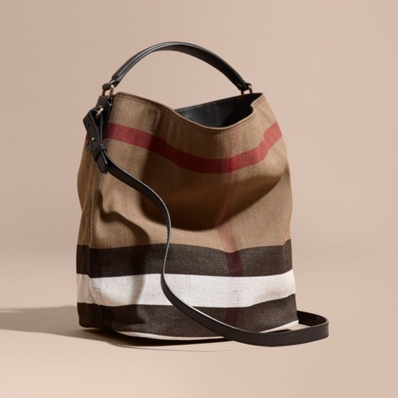 Burberry Handbags - Burberry Medium Ashby Bucket Bag 4e2675014c9e2