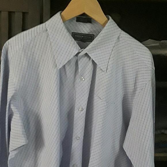 80 Off Andrew Fezza Other Andrew Fezza Dress Shirt Sz
