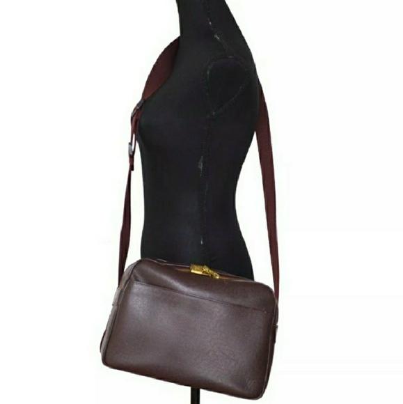 0097b0734da Louis Vuitton Other - Louis Vuitton~ MINT Burgundy Taiga Reporter PM Bag