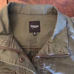 12e9d20fb2707 Kensie Jackets & Coats | Jeans Olive Green Military Jacket Size M ...