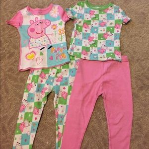 Peppa Pig Other - Girls Peppa Pig pajama set
