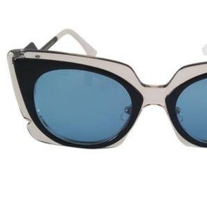 """Fendi Sunglasses FF0117/S """" Orchid """" Cat - Eye"""