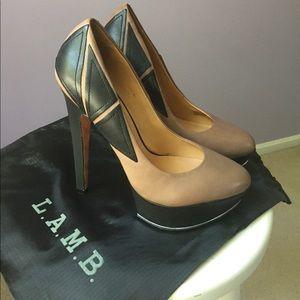 L.A.M.B. Dolores II High Heel