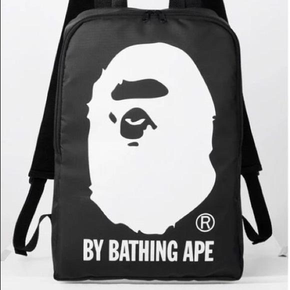 def4ec4f0991 A Bathing Ape Handbags - A Bathing Ape Bape nylon backpack