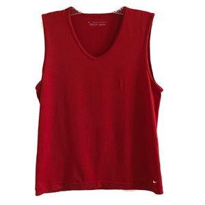 Nike Seamless Red Dri Fit Workout Tank Size Small