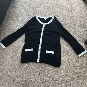New classic comfy Chanel style cardigan S