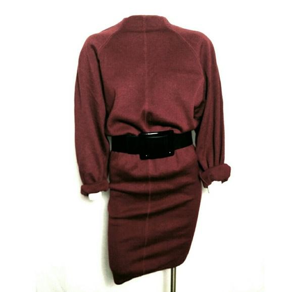 Alaia Dresses & Skirts - Vintage Alaia Circa 1980 Knit Dress