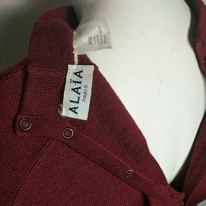 Alaia Dresses - Vintage Alaia Circa 1980 Knit Dress