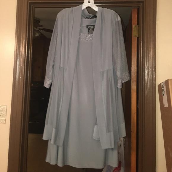 7d0195e524c R M Richards Mother of Groom Mother of Bride dress.  M 5952a50c4e8d1774dd0b211e
