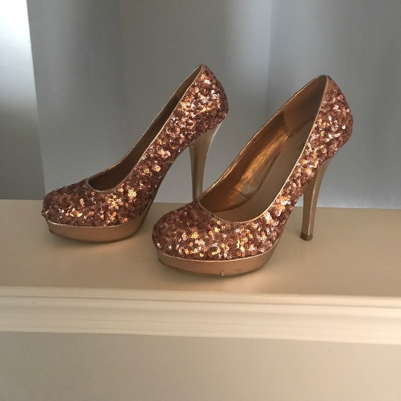 75 jcpenney shoes gold wedding or formal shoes