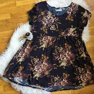 American Apparel Dresses & Skirts - American Apparel Floral Babydoll Dress