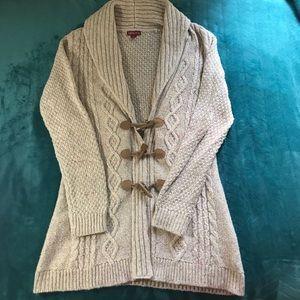 Off-season Sale! Sweater cardigan/tunic