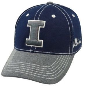 Top of the World Other - 🆕 Illinois Fightin' Illini Memory Fit Hat NWT M/L