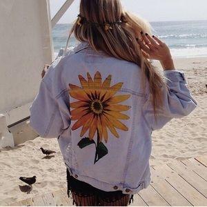 LF Jackets & Blazers - Sunflower Denim LF jacket 🌻