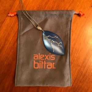 Alexis Bittar lucite necklace
