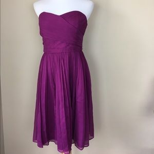 J. Crew Arabelle chiffon dress