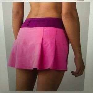 Pace Rival skirt. By lululemon