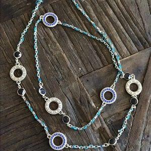 Loft mixed media necklace