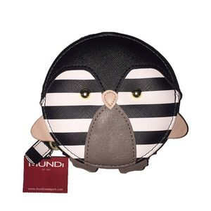 Mundi Striped Penguin Coin Purse NEW