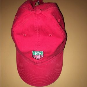 Tag Heuer Other - Red tag heuer baseball cap hat